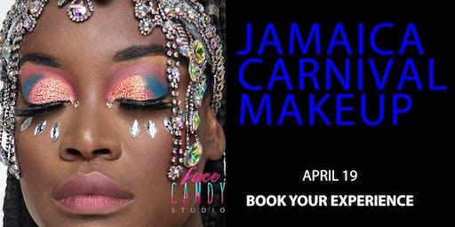 Glow Queen Makeup for Jamaica Carnival 2020