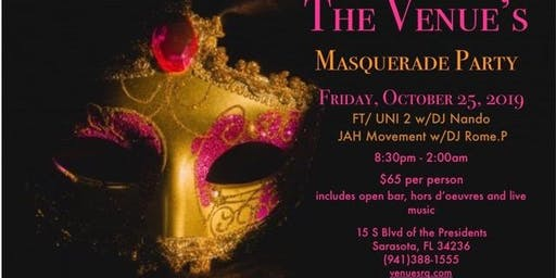 The Venue's Masquerade Party