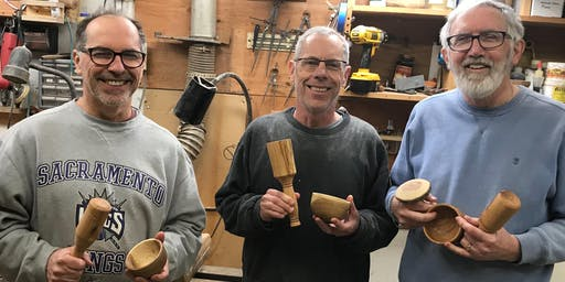 Intro to Woodturning with Bill - November 14 - 15, 2019