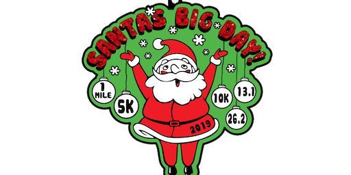 2019 Santa's Big Day 1M, 5K, 10K, 13.1, 26.2- Long Beach