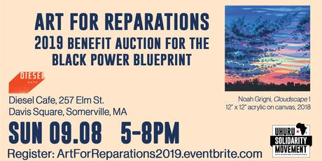 Art For Reparations: Benefit Auction for the Black Power Blueprint tickets