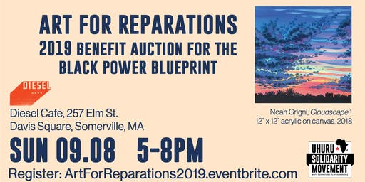 Art For Reparations: Benefit Auction for the Black Power Blueprint