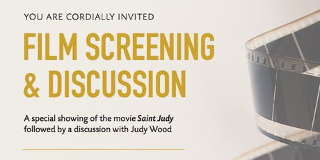 VIP Movie Screening of Saint Judy and Q&A with Special Guest - Judy Wood tickets