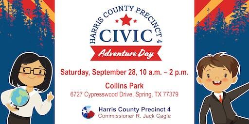 Harris County Precinct 4's Civic Adventure Day