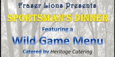 2nd Annual Sportsman's Dinner
