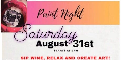 Paint & Vino nights tickets
