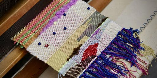 Tapestry Weaving workshop at Ragfinery