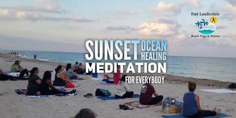 Sunset Guided Meditation by the Sea for Everyone $10 @ door tickets