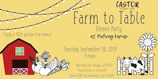 Farm to Table Summer Dinner