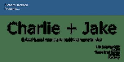 Charlie + Jake · Temple Street Canteen · Keynsham
