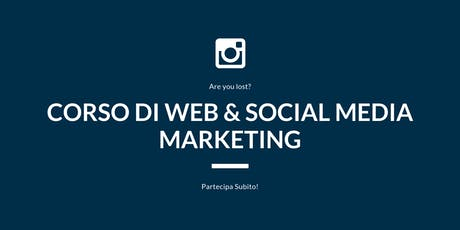Corso di Web & Social Media Marketing biglietti