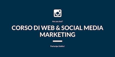 Corso di Web & Social Media Marketing tickets