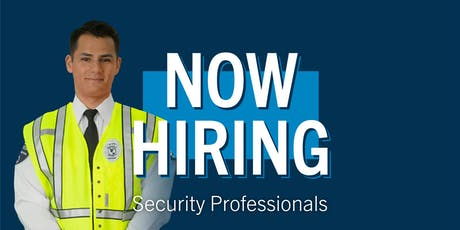 Security Officer Job Fair tickets