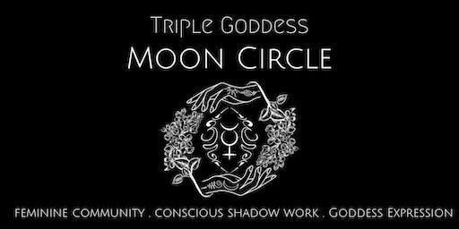 Triple Goddess Moon Circle