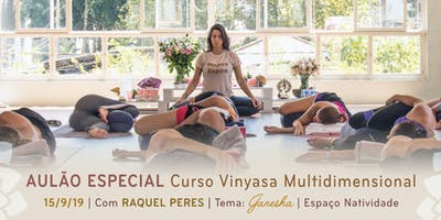 Aulão Especial com Raquel Peres | Tema: Ganesha
