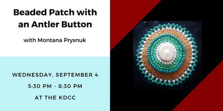 Workshop: Beaded Patch with an Antler Button tickets
