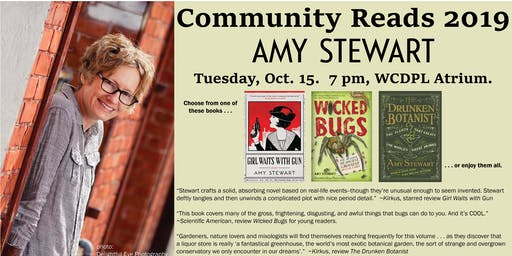 Meet Community Reads Author, Amy Stewart