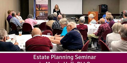 (Aug 28th) – Ask Your Estate Planning Questions (Sedona, AZ)