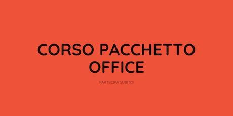 Corso Pacchetto Office biglietti