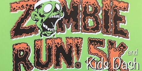 Zombie 5k Run and Kids Dash tickets