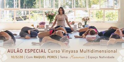 Aulão Especial com Raquel Peres | Tema: Hanuman