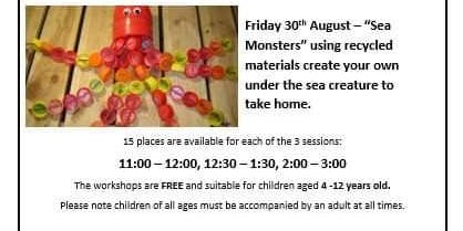 Free Family Art Workshops at The Newport Ship