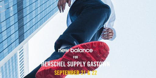 New Balance for Herschel Supply Collection Launch