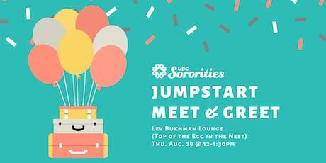 UBC Sororities Presents: Jumpstart Meet & Greet tickets