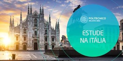 Seminário Gratuito Estude na Politécnico de Milano