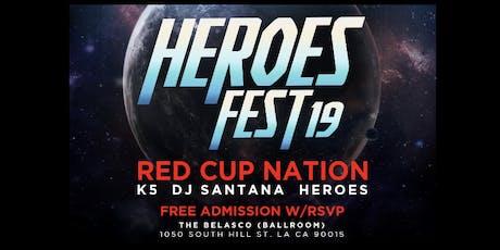 HEROES FEST '19  RAVE INSIDE BELASCO THEATRE tickets