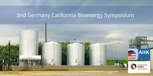 2nd Germany California Bioenergy Symposium