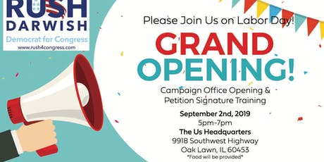 The Us Headquarters Grand Opening! tickets