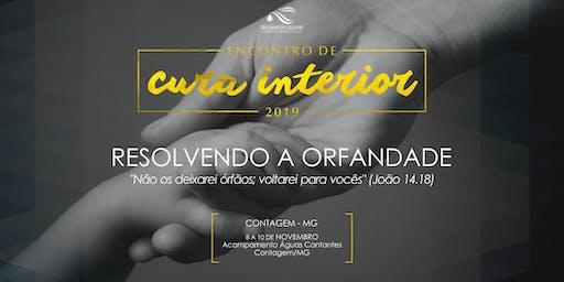 ENCONTRO REGIONAL DE CURA INTERIOR CONTAGEM-MG 2019