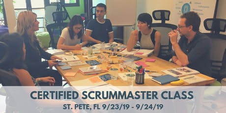 Certified ScrumMaster (CSM) Training Class - in St. Petersburg, FL tickets