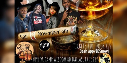 Smokes & Jokes @ The Attache Cigar Lounge