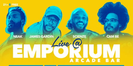 Neak / James Gardin / ScienZe / Cam Be / DJ Slot-A tickets