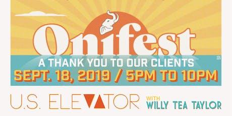 Onifest tickets