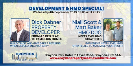 Development & HMO Special! September's Croydon Property Meet tickets