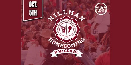 Hillman Homecoming Bar Crawl tickets