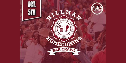 Hillman Homecoming Bar Crawl