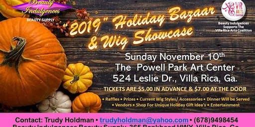 Holiday Bazaar & Wig Show 2019