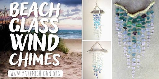 Beach Glass Wind Chimes - Paw Paw