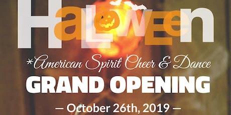 Halloween Bash Grand Opening! tickets