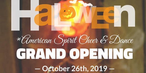 Halloween Bash Grand Opening!