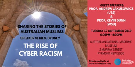 Speaker Series: The Rise of Cyber Racism tickets