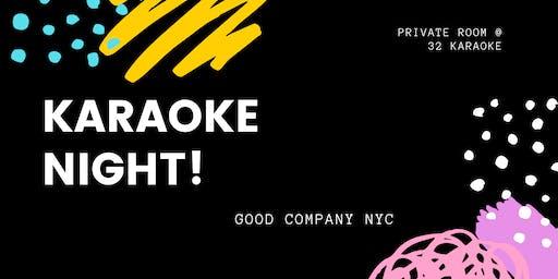 Karaoke Night with Good Company NYC