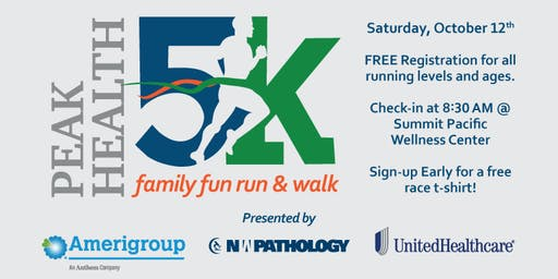 2019 SPMC Peak Health 5K Fun Run & Walk