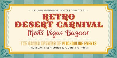 Leilani Weddings invites you to  the Grand Opening of Pitchouline!