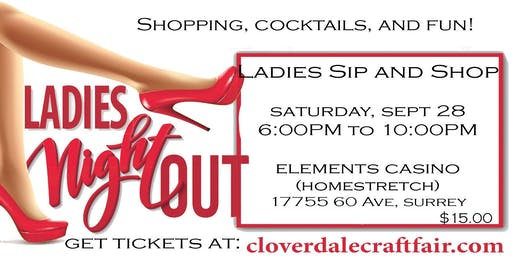 Ladies Sip and Shop