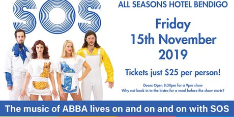 SOS: ABBA Tribute Show tickets